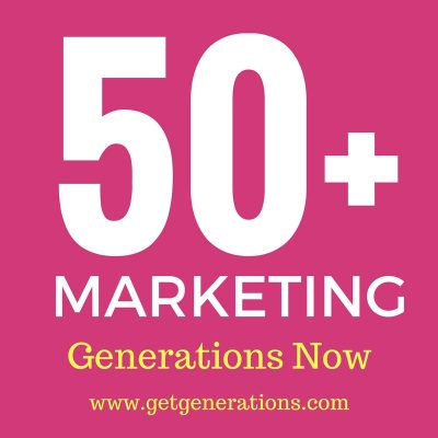 Generations Now, marketing to 50+ market, Oakland, CA