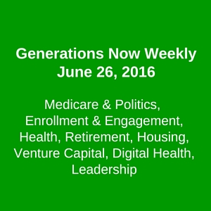 Generations Now Weekly, June 26, 2016