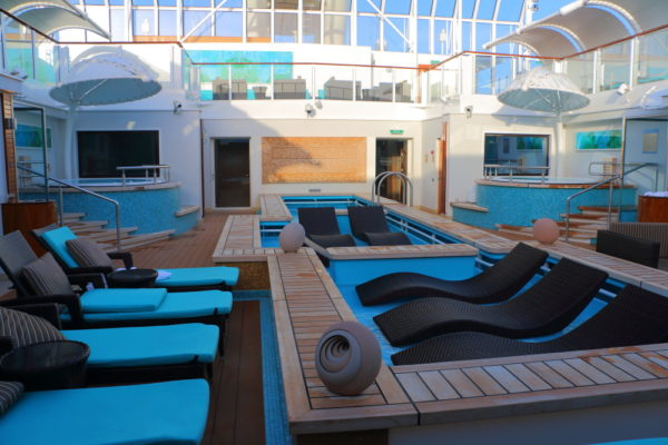 Photo of Haven Courtyard on a Norwegian Lines Cruise Ship appeals to Generativity
