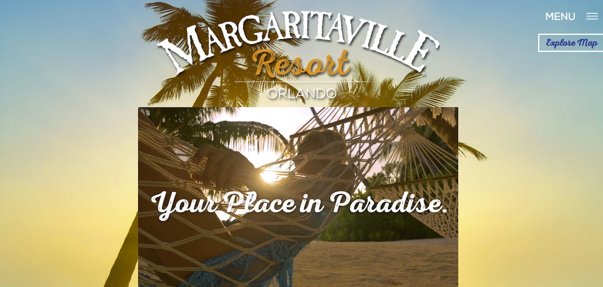 Photo of Margaritaville Home Page